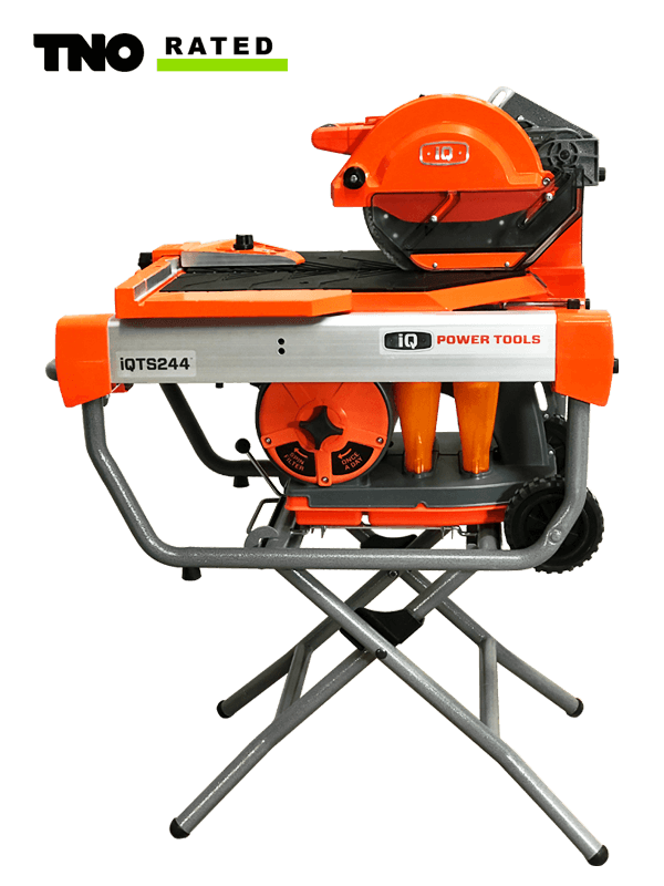 iQTS244 Dry Cut Tile Saw with Integrated Dust Control